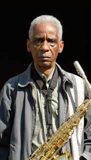 Roscoe Mitchell - photo by J. Blough