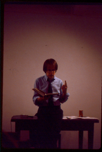 Fiction Diction presents a reading by Jay Cantor at Hallwalls, 1985.