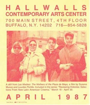 April 1987 Hallwalls