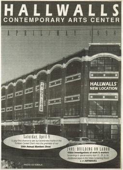 April And May 1994 Hallwalls
